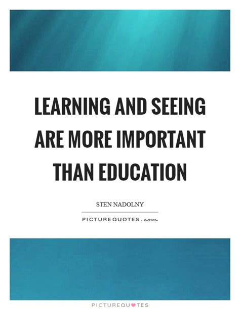 Quotes About Education Being Important