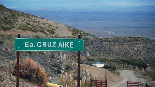 La estancia Cruz Aike distante a 50 km de El Calafate - Foto: OPI Santa Cruz