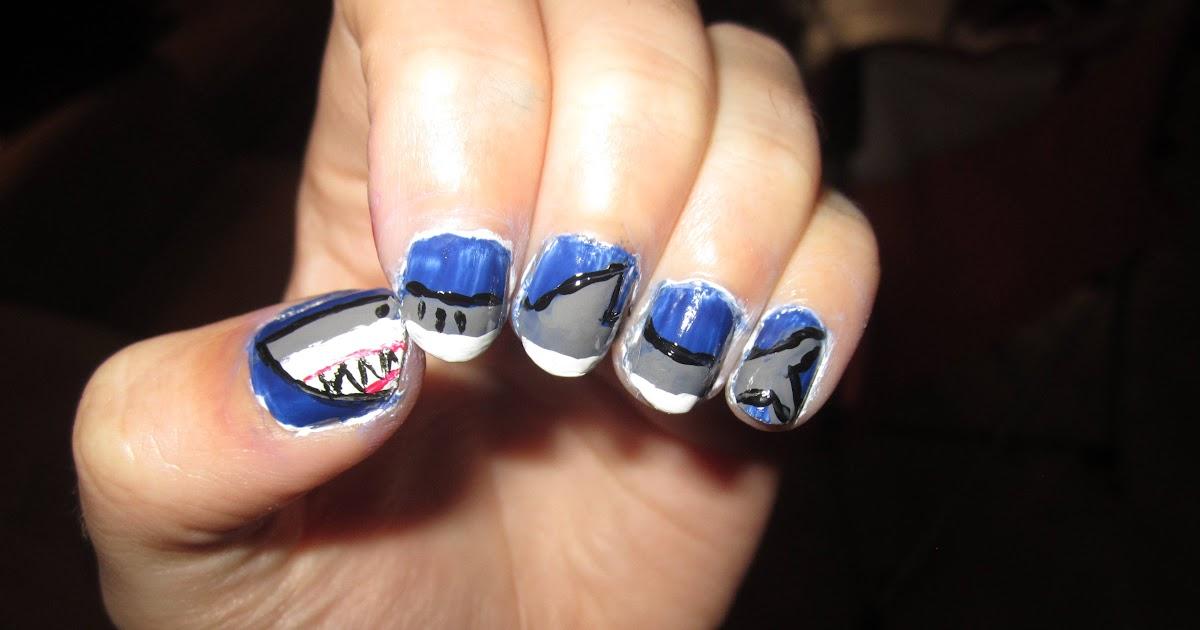 Crack-a-Lacquer: Shark Nails!