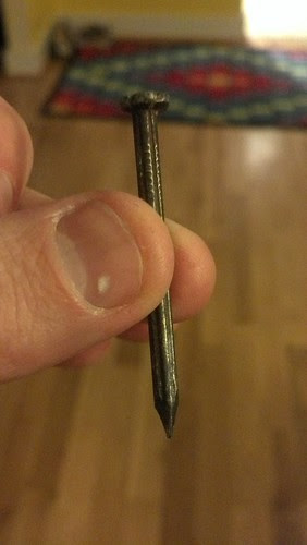 Anyone need a nail (used, good condition)?