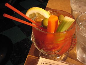 "Bloody Mary: ""This is a Bloody Mary from ..."