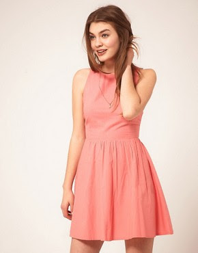 Image 2 ofASOS Summer Dress With Open Back