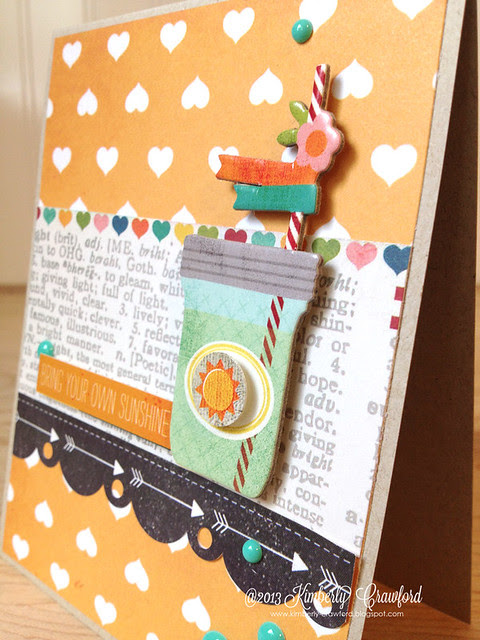 bring your own sunshine cu Simple Stories by Kimberly Crawford