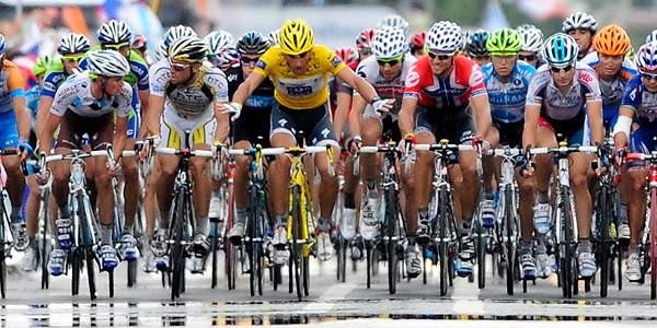 Resultado de imagen de ciclismo peloton