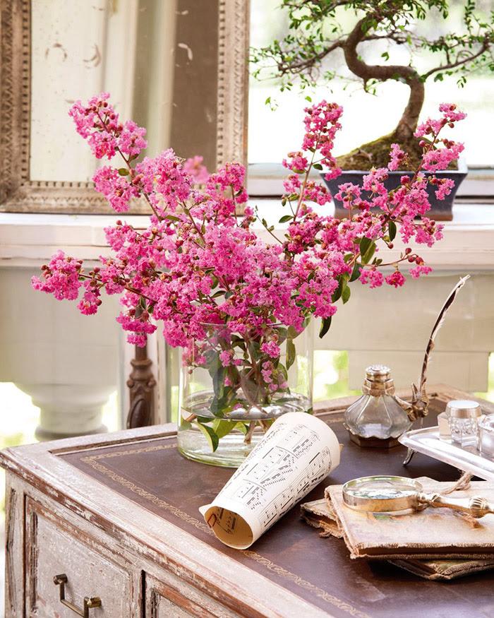 ElMueble Un salon chic en crudo y rosa 7