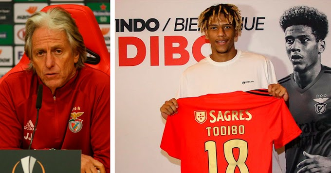'Todibo won't be part of the squad': Benfica coach Jorge Jesus speaks on Barca loanee.
