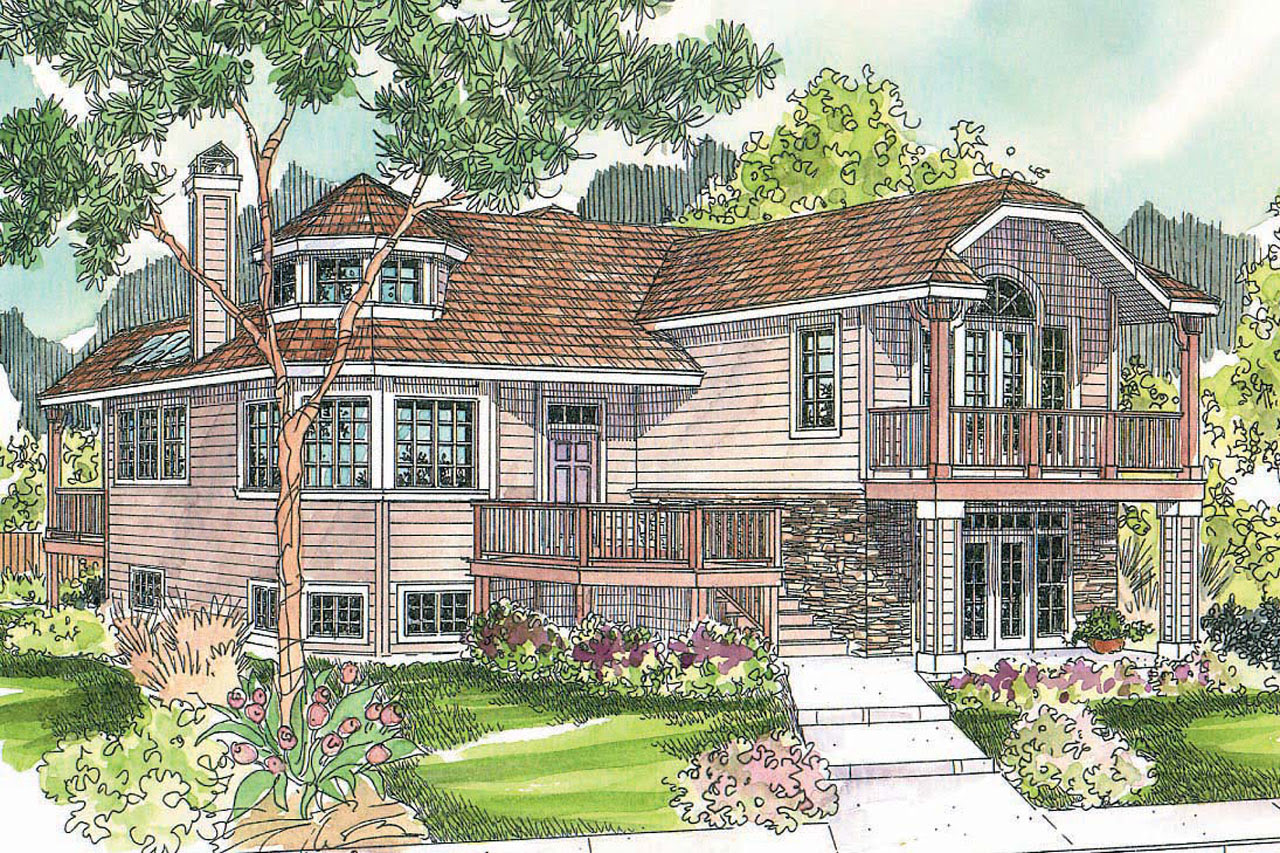 Cottage House Plans  Sherbrooke 30371  Associated Designs