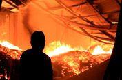 Pasar Terbakar, Seorang Warga Tewas Tergilas Mobil Pemadam Kebakaran