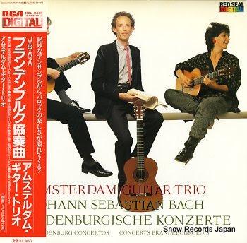 AMSTERDAM GUITAR TRIO bach; brandenburg concertos