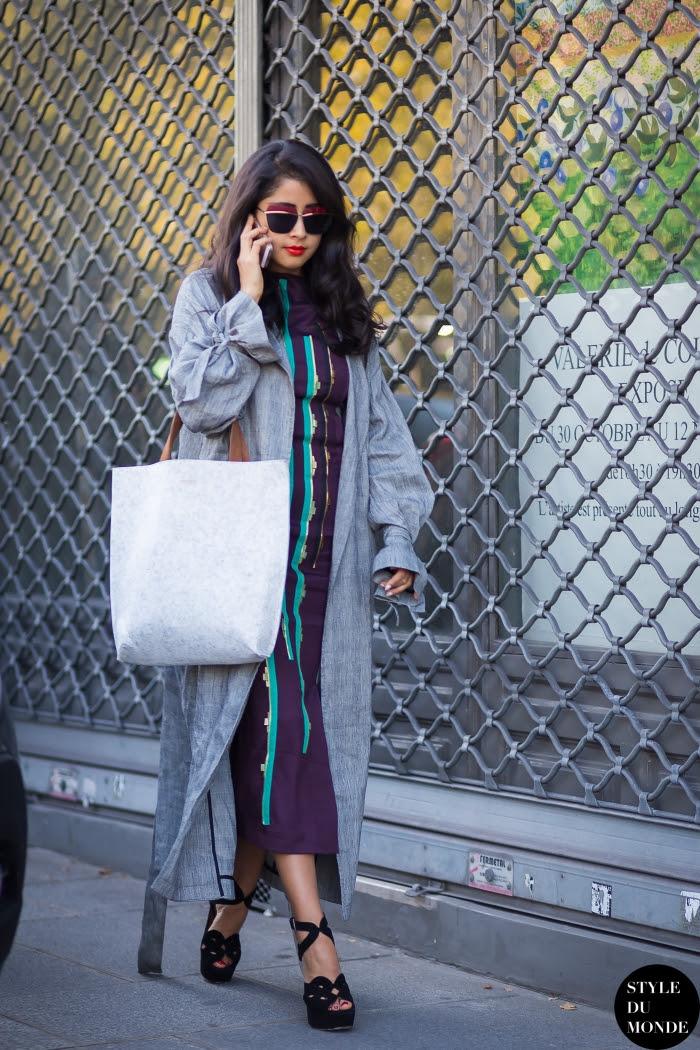 Denni Elias Chicmuse Street Style Street Fashion Streetsnaps by STYLEDUMONDE Street Style Fashion Blog