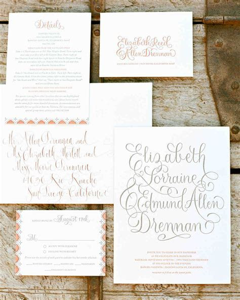 10 Things You Should Know Before Mailing Your Wedding
