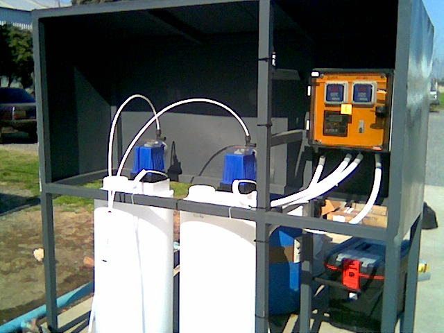 Sistemas automaticos de acondicionamiento de aguas