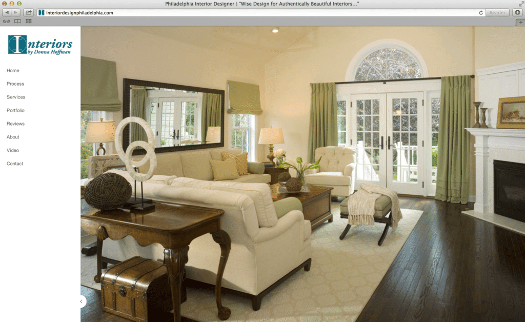 Interior Design Website Design | KL & Associates