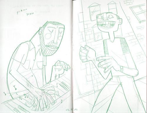 sketchdump: some dudes