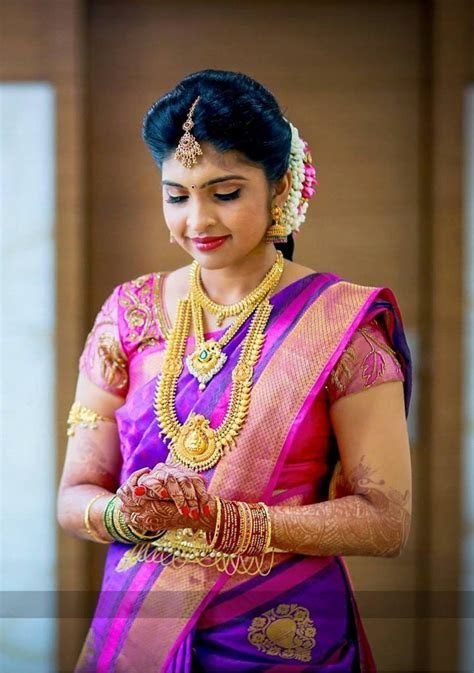 Gracious Bride Adorn with Eye Catching Blue and Pink