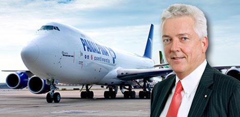 Peter Ulber, chief executive of Panalpina