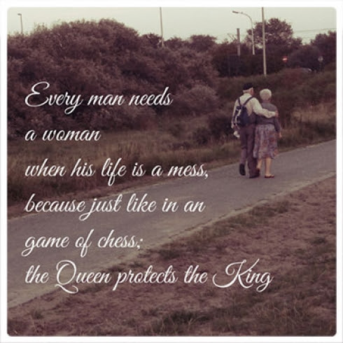 King Needs His Queen Quotes