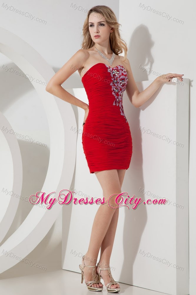 Gorgeous red evening dresses
