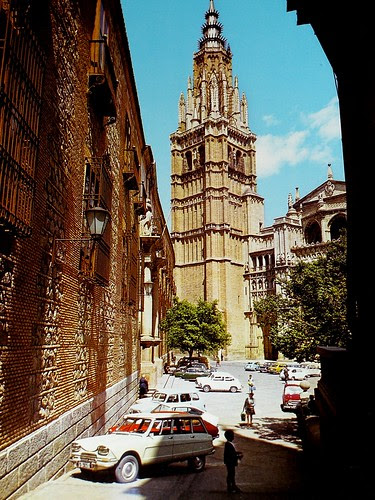 Catedral de Toledo en los años 60