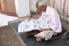 Man Can Do Without Art And Culture But Not Without Newspapers by firoze shakir photographerno1