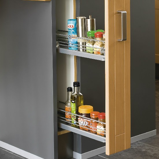 Space saving ideas for small kitchens - Hot Doors News