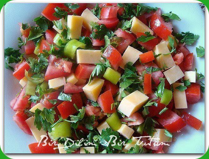 kasarli salata