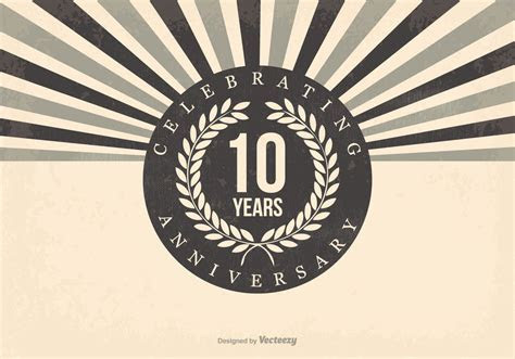10th Anniversary Free Vector Art   (24 Free Downloads)