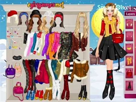 Barbie Winter Fashionista Dress Up Game   YouTube
