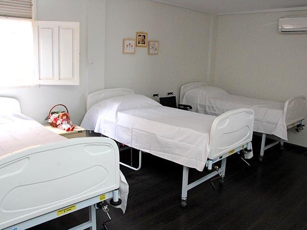 Alojamento para residentes: estrutura adaptada a necessidades especiais (Foto: Alex Régis)
