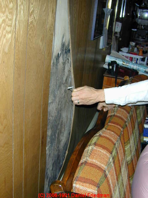 Wood Paneling Removing Wood Paneling From Plaster Walls