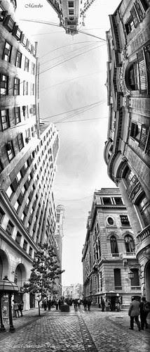 Santiago de Chile. Nueva York vista al Sur by Alejandro Bonilla