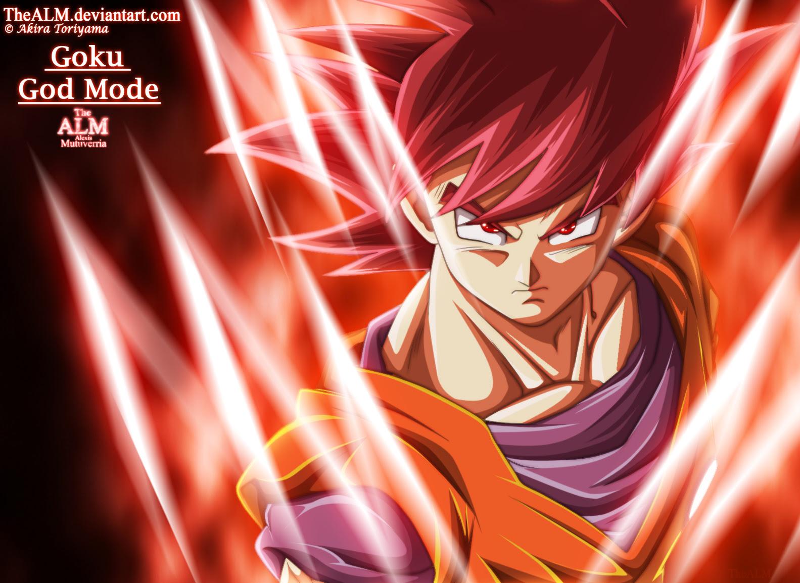 Dragon Ball Z Super Saiyan God Goku Wallpaper