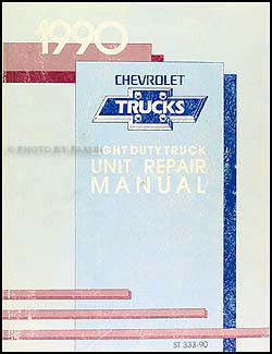 1990 Chevy P-Chassis Wiring Diagram Original Motorhome ...