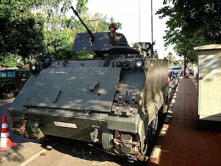 tanque calle