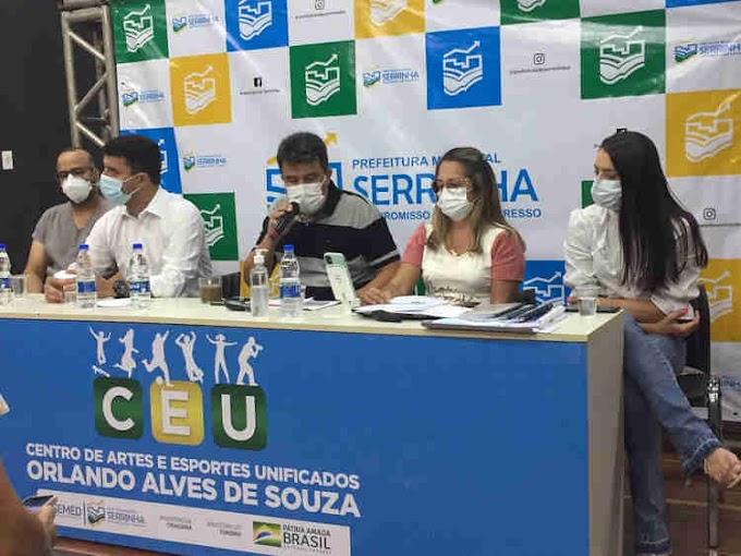 Aulas presenciais na rede municipal de Serrinha retornam em 2022