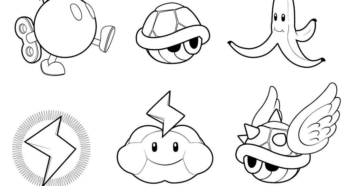 Dessin Coloriage Mario Kart Coloriage Ideas