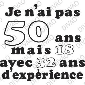Texte Anniversaire Humour 50 Ans Femme