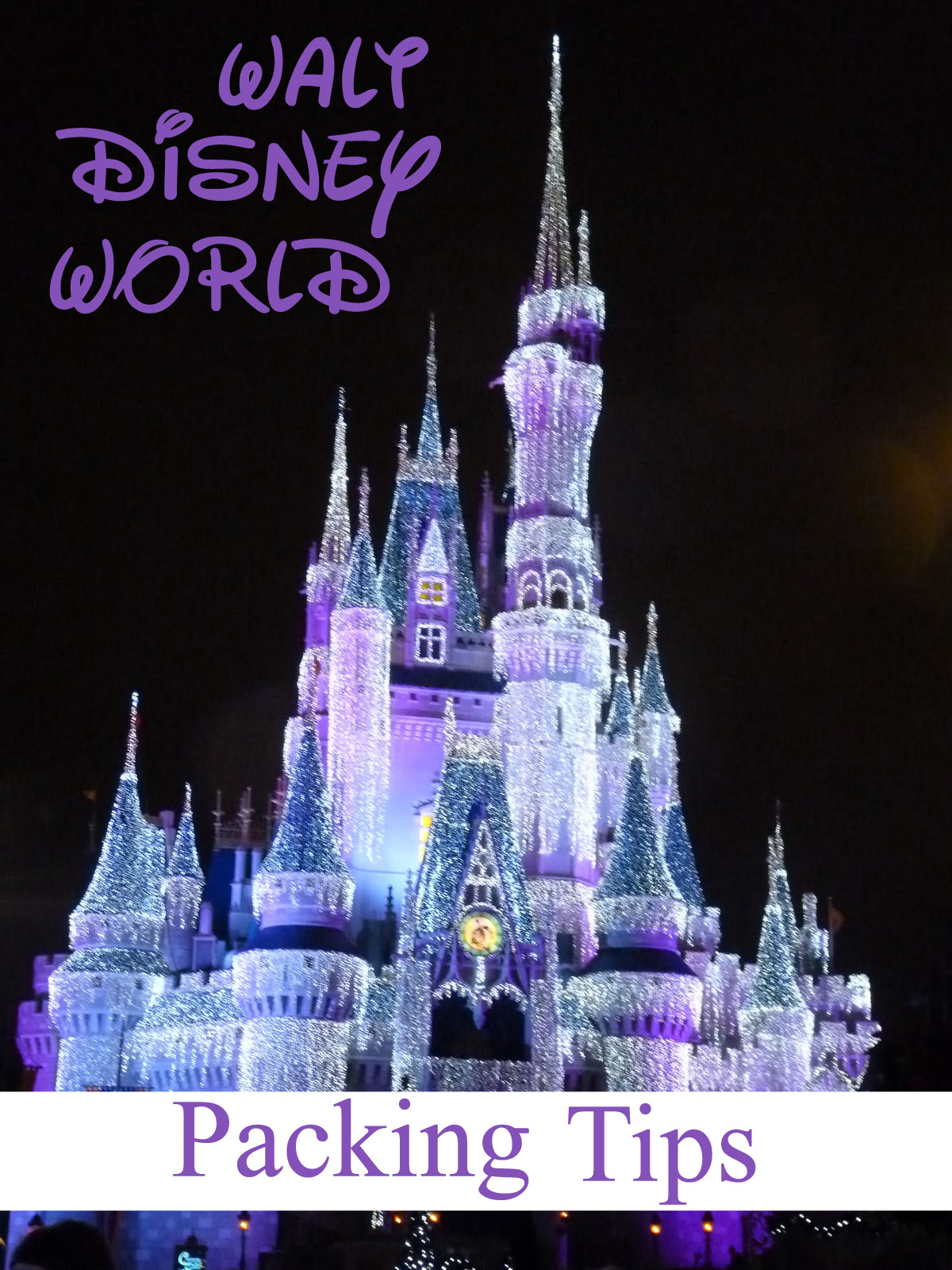 Walt Disney World Packing Tips  Sweet T Makes Three