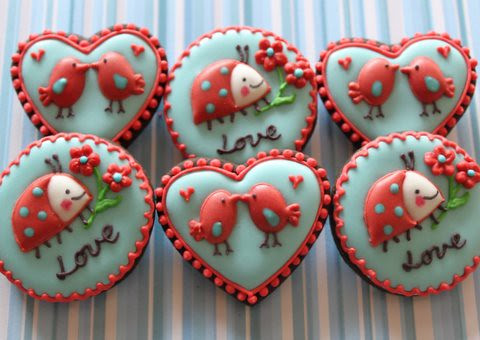 Valentine Cookies by mint_lemonade