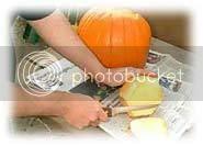 esculpindo a abóbora
