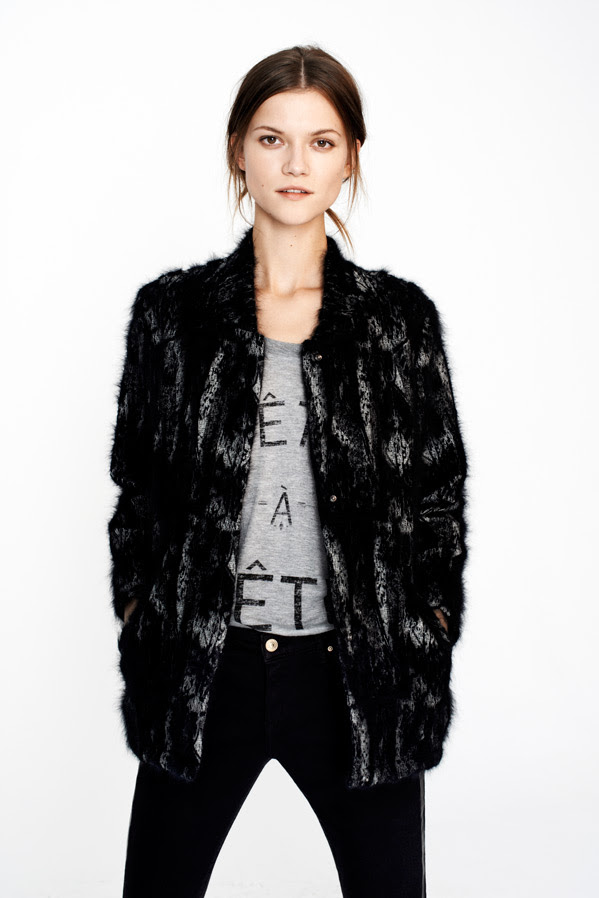 zara5 Kasia Struss Models Zaras December 2012 Lookbook
