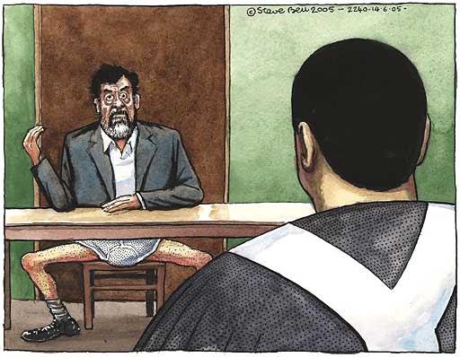Saddam í yfirheyrslunni :)