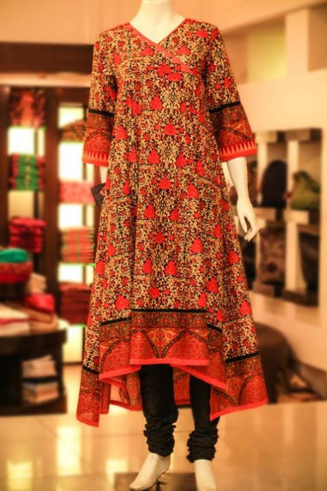 Casual-Lawn-Womens-Girls-Kurta-Kurti-Collection-2013-by-Thredz-for-Ladies-10