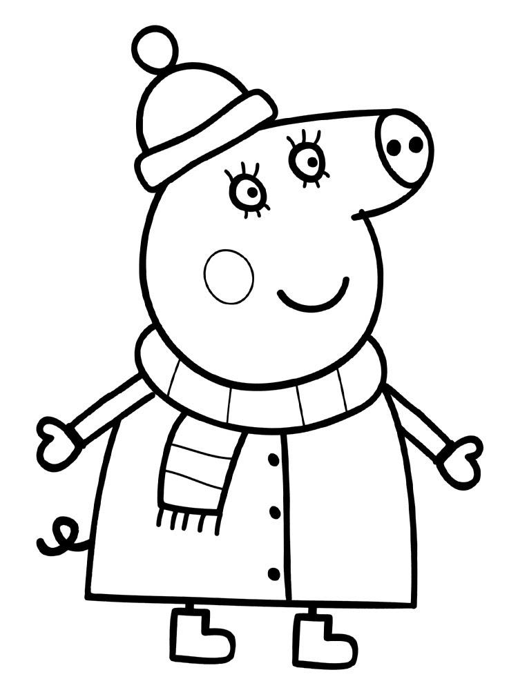 Dibujos Para Colorear Online Peppa Pig Dibujos Para Dibujar