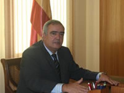 El alcalde de Baralla, Manuel González Capón.