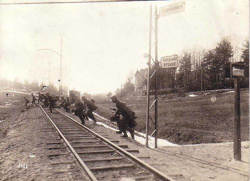 Attack of German Army in Finland WWI