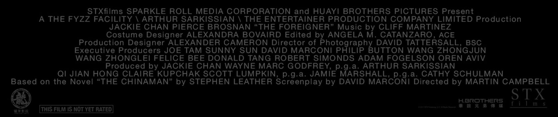 The Foreigner Stx Entertainment