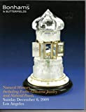 2009 Bonham's & Butterfields Natural History Exotic Gemstone Jewelry Giant Clam Giant Pearl 40 ounce gold nugget - Auction Catalog 6 December 2009 Sale 17535