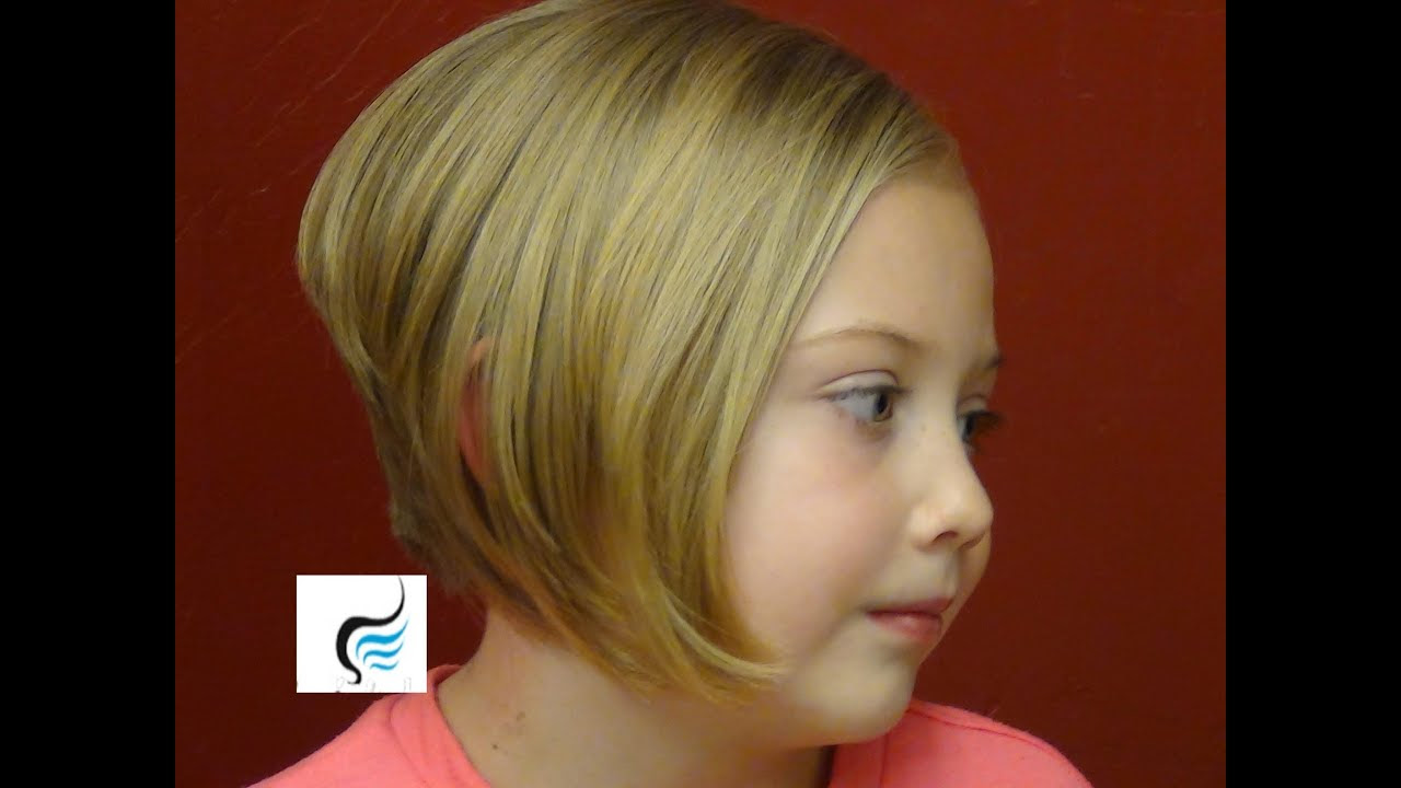 How to iStylei a Stacked Bob iCuti A Line Haircut On Little