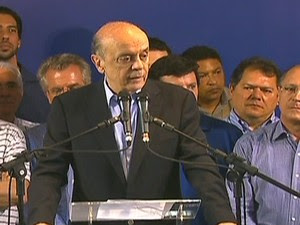 José Serra (Foto: Reprodução Globo News)